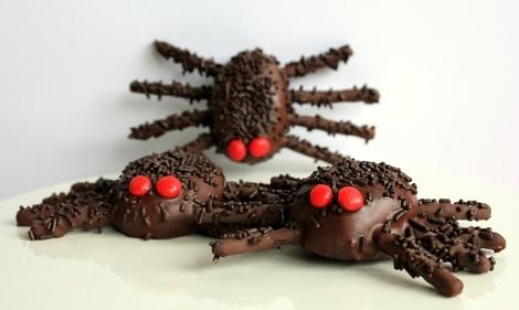Spooky Smartie spiders