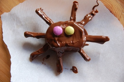 Smarties spiders