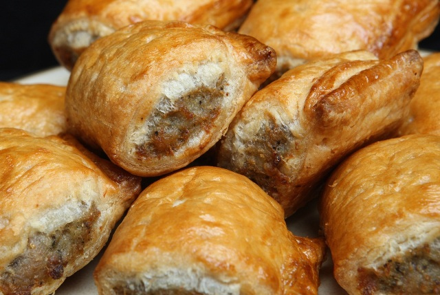Christmas morning sausage rolls