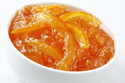 Hot marmalade sauce