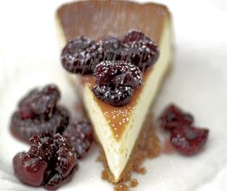 Bloomin easy vanilla cheesecake