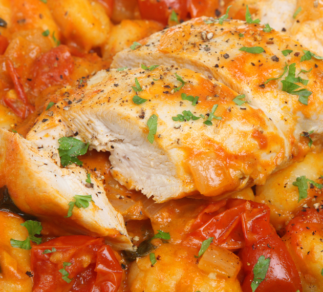 Chicken and bacon casserole