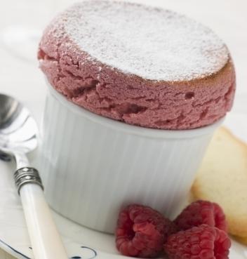 Raspberry Soufflé