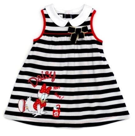 Daisy Duck Nautical Pique romper dress set
