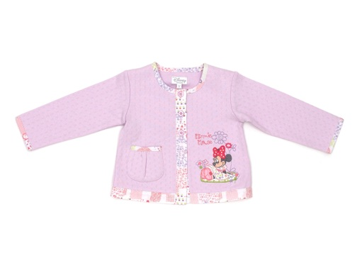 Minnie Mouse Girls Pink Cardigan