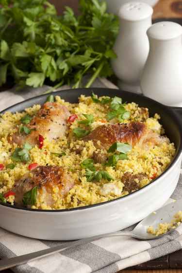 Chicken and couscous one pot