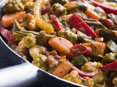 Madras vegetable curry