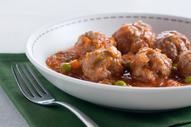Quick meatball stew
