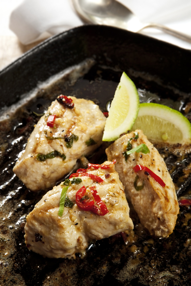 Mexican chicken with lime