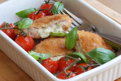 Revamped chicken kiev