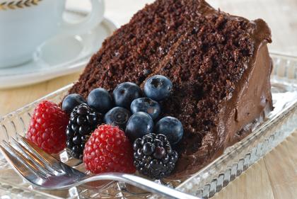 Champions chocolate cake