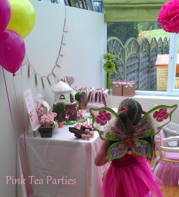 Pink Tea Parties