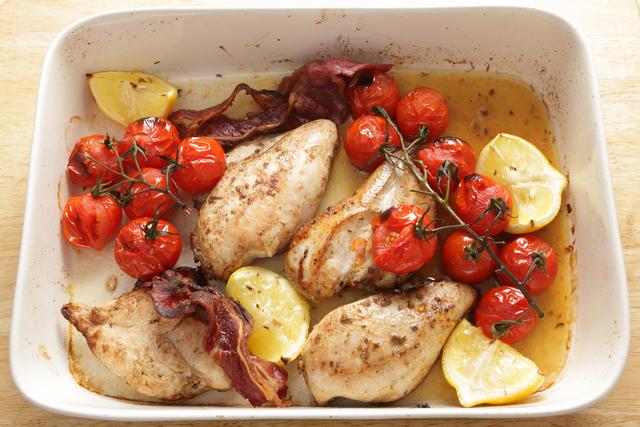 Chicken tray bake