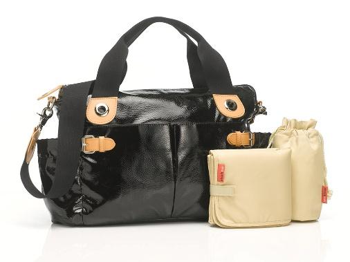 Kate Patent changing bag