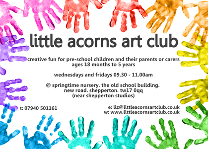 little acorns art club