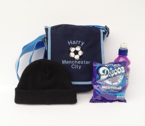 Mini Reporter Bag £10 - match day bag