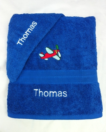 Personalised Towels £12.50 (bath towel) £14.50 (bath sheet) .