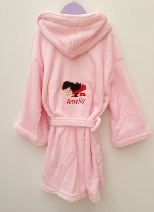 Personalised dressing gown (£15)