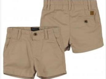 Mayoral Toddler Boys Stone Chino Shorts