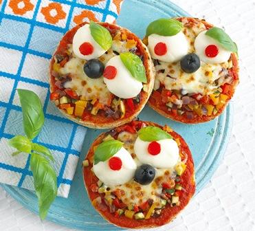 English pizza muffins
