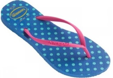 Havaianas Slim Fresh Light Blue Flip Flops
