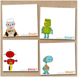 Personalised kids cards
