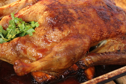 Easy crispy roast duck