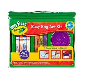 Crayola My First Busy Bag Art Kit