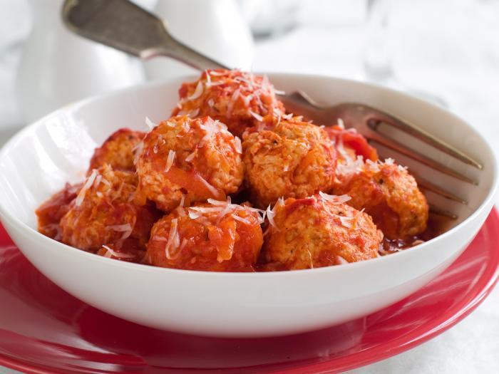 Mozzarella meatloaves