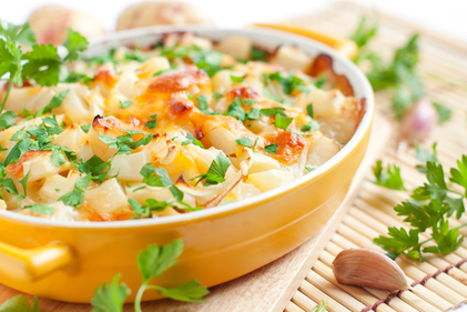 Vegetable potato bake