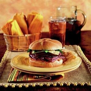 Chipotle roast beef sandwich
