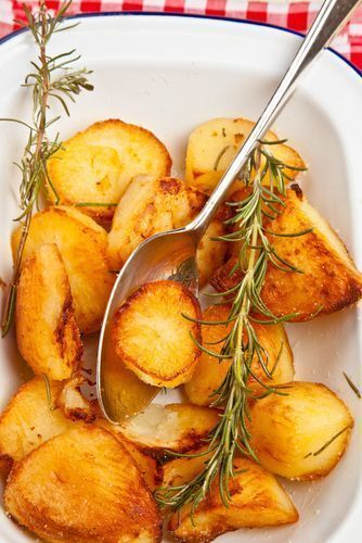 Busy mum's roast potatoes