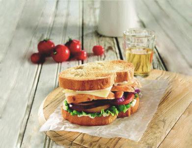 Chicken Tuscan sandwich