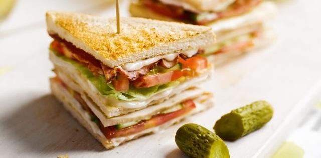 VIP club sandwich