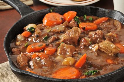 Beef and mushroom casserole