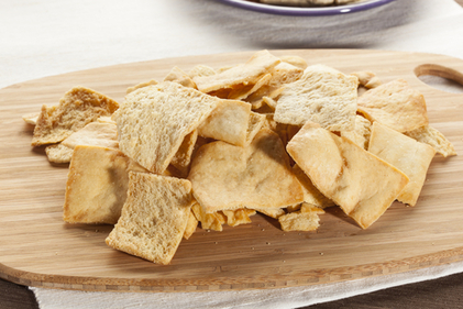 Pita bread chips