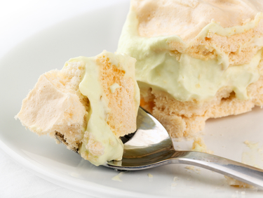 Irish coffee meringue