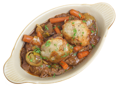 Beef and dumplings stew