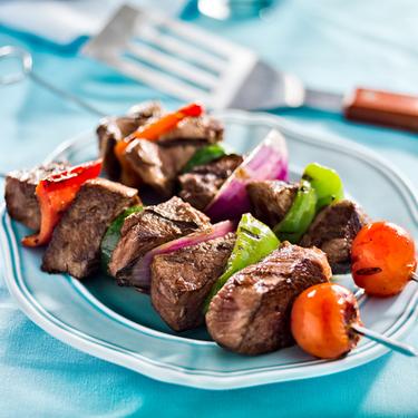 Easy beef kebab