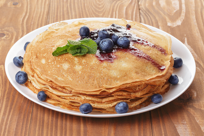Wholemeal French crêpes