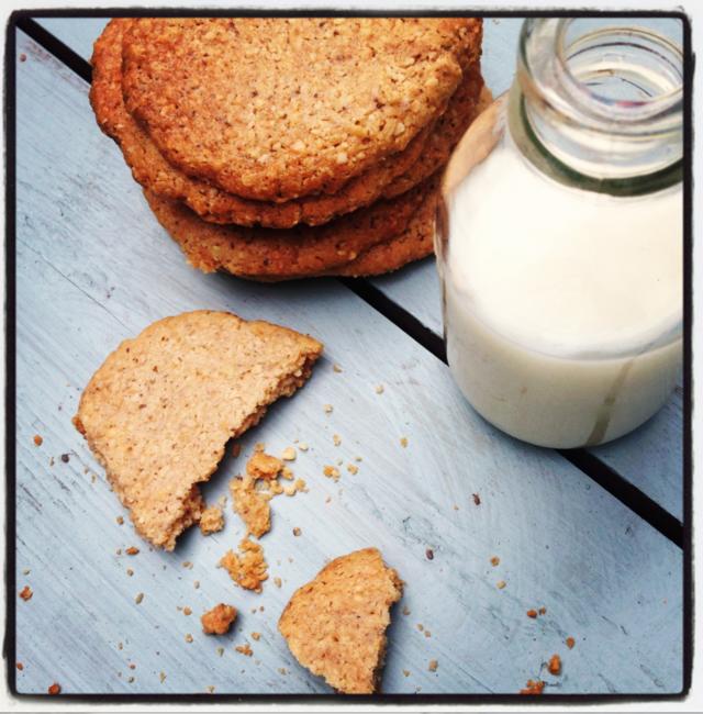 Chia and Cinnamon Cookies
