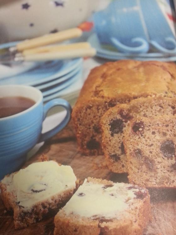 Fruity Tea Bread