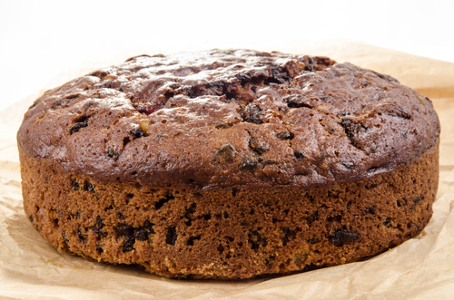 Fruit cake with just 4 ingredients