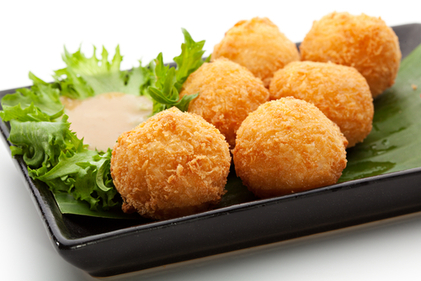 Rice and cheese balls