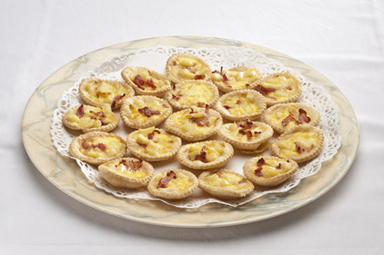 Bacon tarts