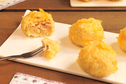 Potato and tuna balls