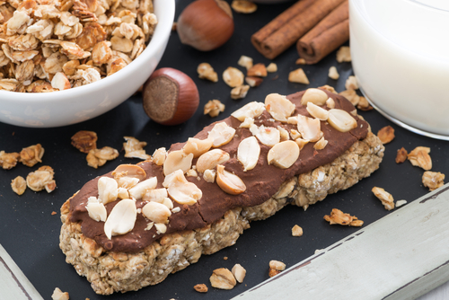 Chocolate granola bar