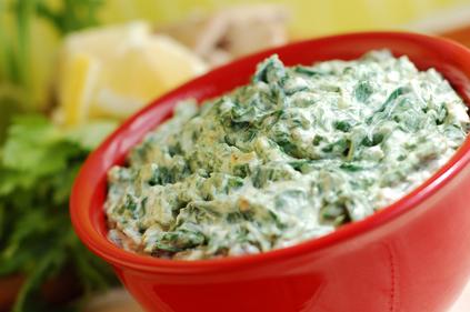 Creamy spinach