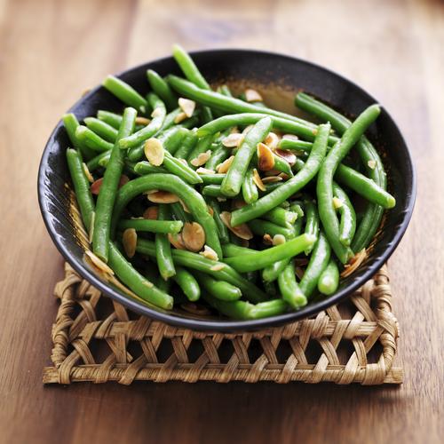 Lemon green beans