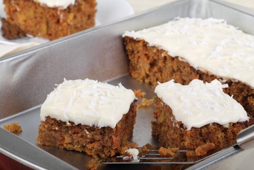 No-bake carrot cake